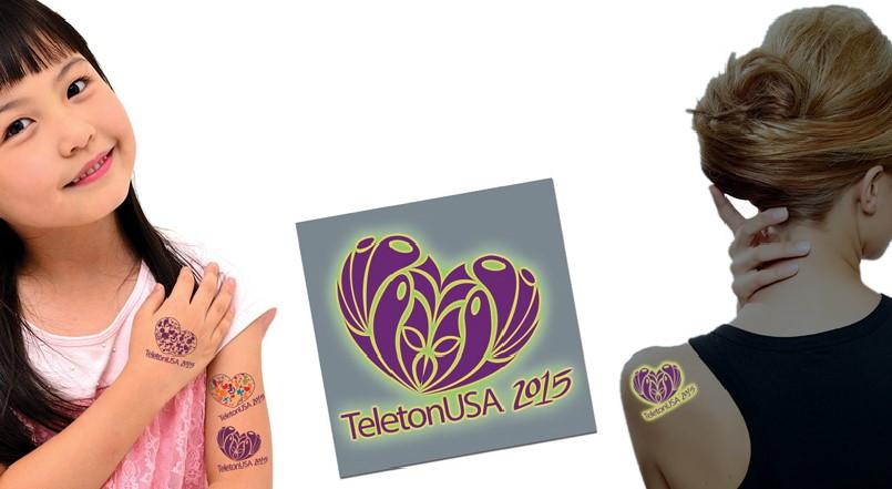 Proveedores de Tatuajes para Teleton 2015 Mexico y USA